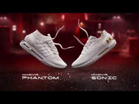 fc9b5fe474b UnderArmour - Technologie HOVR chaussures running 2018 - YouTube