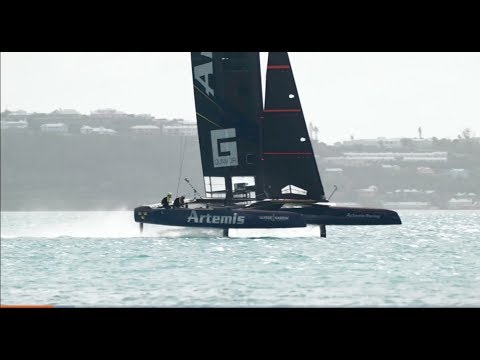 The Insane Tech That Make America's Cup Yachts Fly on Water