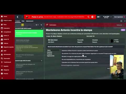 Football Manager 2015 #1 - Presentazione & Prima Amichevole   AntoineGAME   FMC Forum