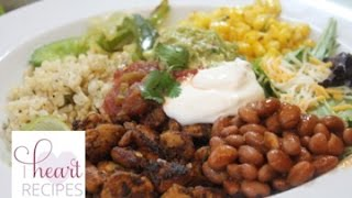 Chipotle Mexican Grill Chicken Burrito Bowl - I Heart Recipes