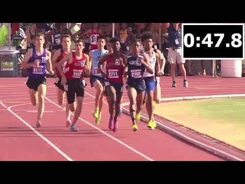 2018 Texas UIL State Meet 6A 800m