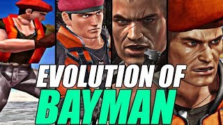Evolution of Bayman from Dead Or Alive (1996-2019)