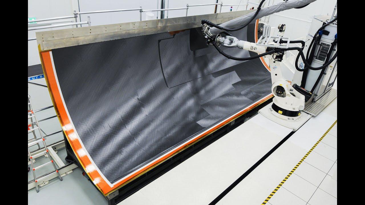 美联项目成功开发8.5米热塑性机身外壳