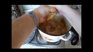 Курица в сковородке Гриль - Газ