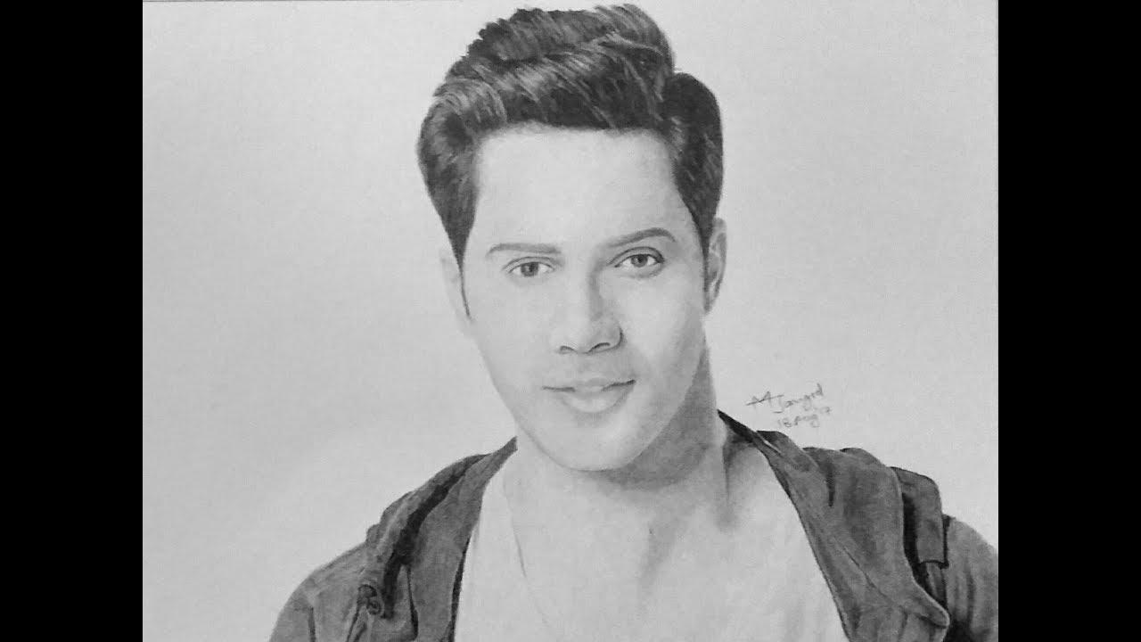 Drawing Varun Dhawan - YouTube