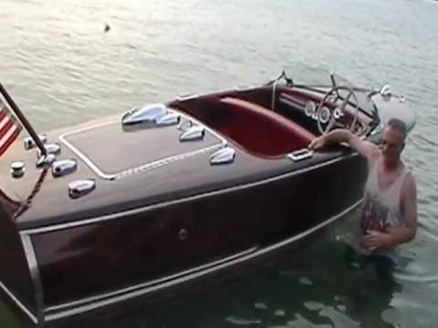 1947 Chris Craft Deluxe Runabout - Billy's Dream 2012