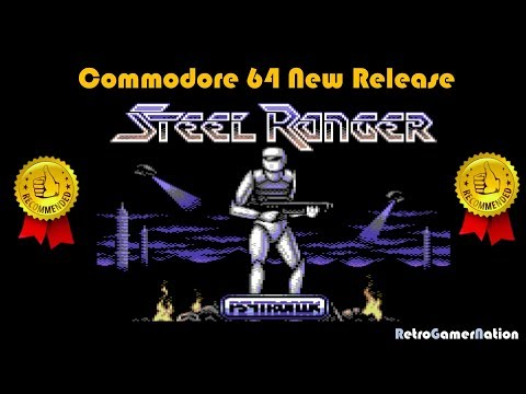 Steel Ranger (C64) - Great 2018 Platform Shooter - Recommended!!!