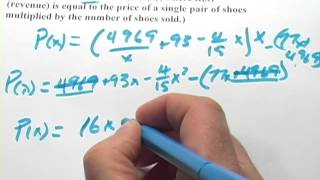 Repeat youtube video Calculus: Maximizing a Profit Function