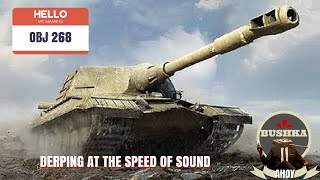 obj268 world of tanks blitz how to derp at the speed of light