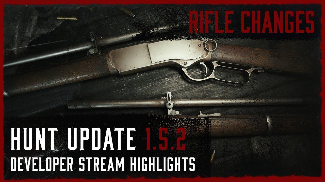 Rifle Changes - Update 1.5.2 Developer Live Stream Highlight