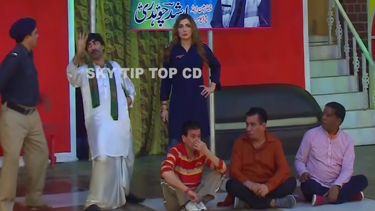 Nasir Chinyoti With Iftikhar Thakur And Sajan Abbas Stage Drama Dhilay Aashiq Full Comedy Clip 2019