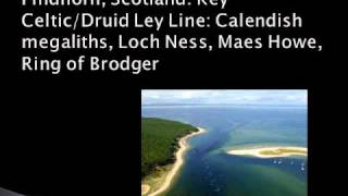 Ley Lines & the Earth's Vertices