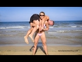 Lift and Carry on the Beach - Women Lifting Man