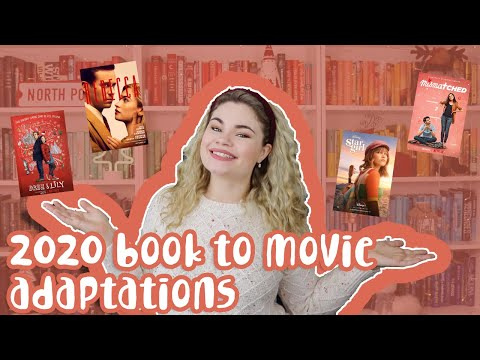 Book to Movie/TV Adaptations of 2020!