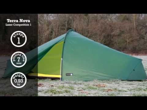 Terra Nova Laser Competition 1 tent | Cotswold Outdoor product video & Terra Nova Laser Competition 1 tent | Cotswold Outdoor product ...