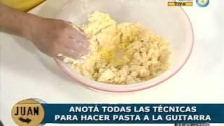 Frescas Pastas A La Guitarra Con Salsa Mediterránea (parte 1)