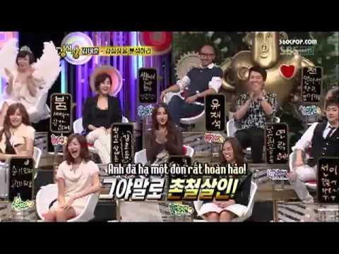 Strong Heart ep 4_5 Super Junior cut (ST Hài hước - Leeteuk, Eunhyuk) 2-2.Flv - YouTube.FLV