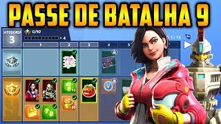 Fortnite-ALL ITEMS of the BATTLE PASS 9