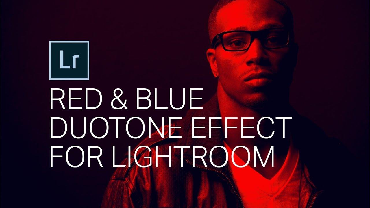 Crea un impressionante effetto Duotone rosso blu Lightroom-4391