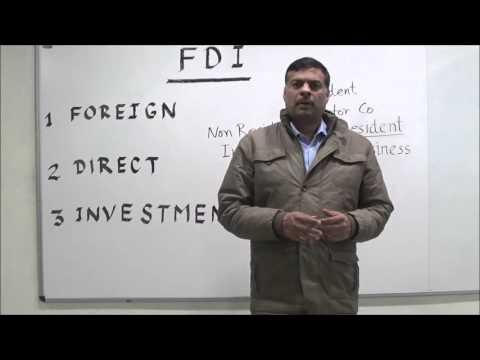 Understanding FDI - An Introduction in Hindi