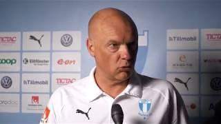 Uwe Rösler efter segern mot IFK Norrköping
