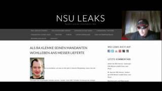 NSU LEAKS: Beate Zschäpe - Kuck' mal, wer da spricht
