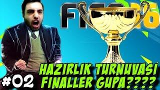 Fifa 16 Türkiye Kariyeri | Turnuva Finalleri | 2.Bölüm | Türkçe oynanış | Ps4