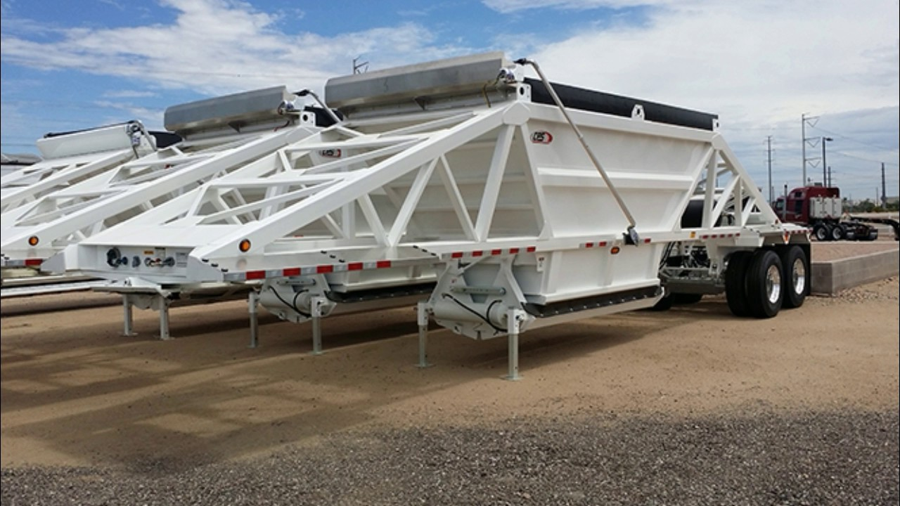Belly Dump Trailers Rent