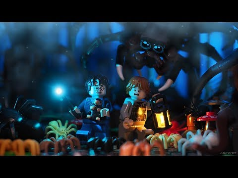 Fantastic Beasts in Forbidden Forest - Lego Harry Potter mini movie