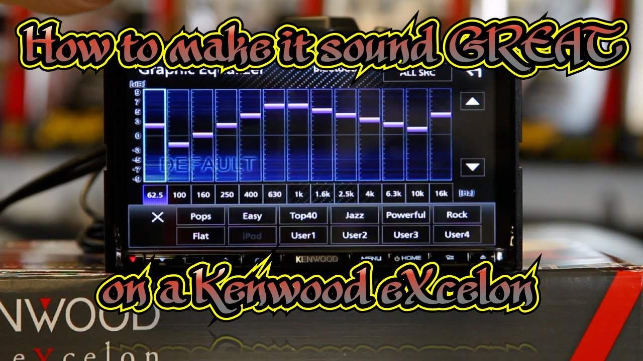 How To Use Eq Xover And Time Correction On The Kenwood