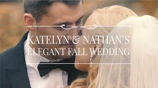 Katelyn & Nathan's Elegant Fall Wedding