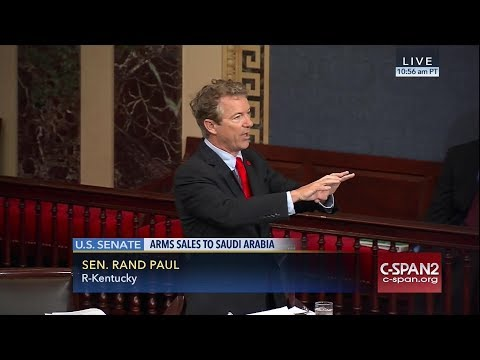 Rand Paul Slaughters Lindsey Graham To His Face On Senate Floor