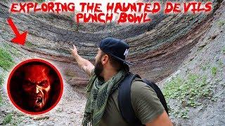 I TRAVELED TO SATANS HAUNTED PUNCH BOWL AND FOUND THIS!! | MOE SARGI