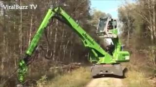 Giant Reach Crane Excavator, TOP Amazing Heaviest Construction Equipment