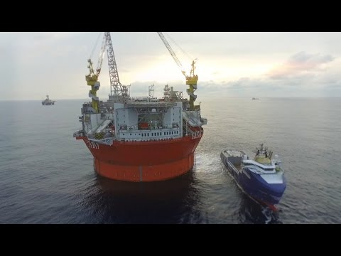 Goliat, the Giant -  IV The Start of Production | Eni Video Channel