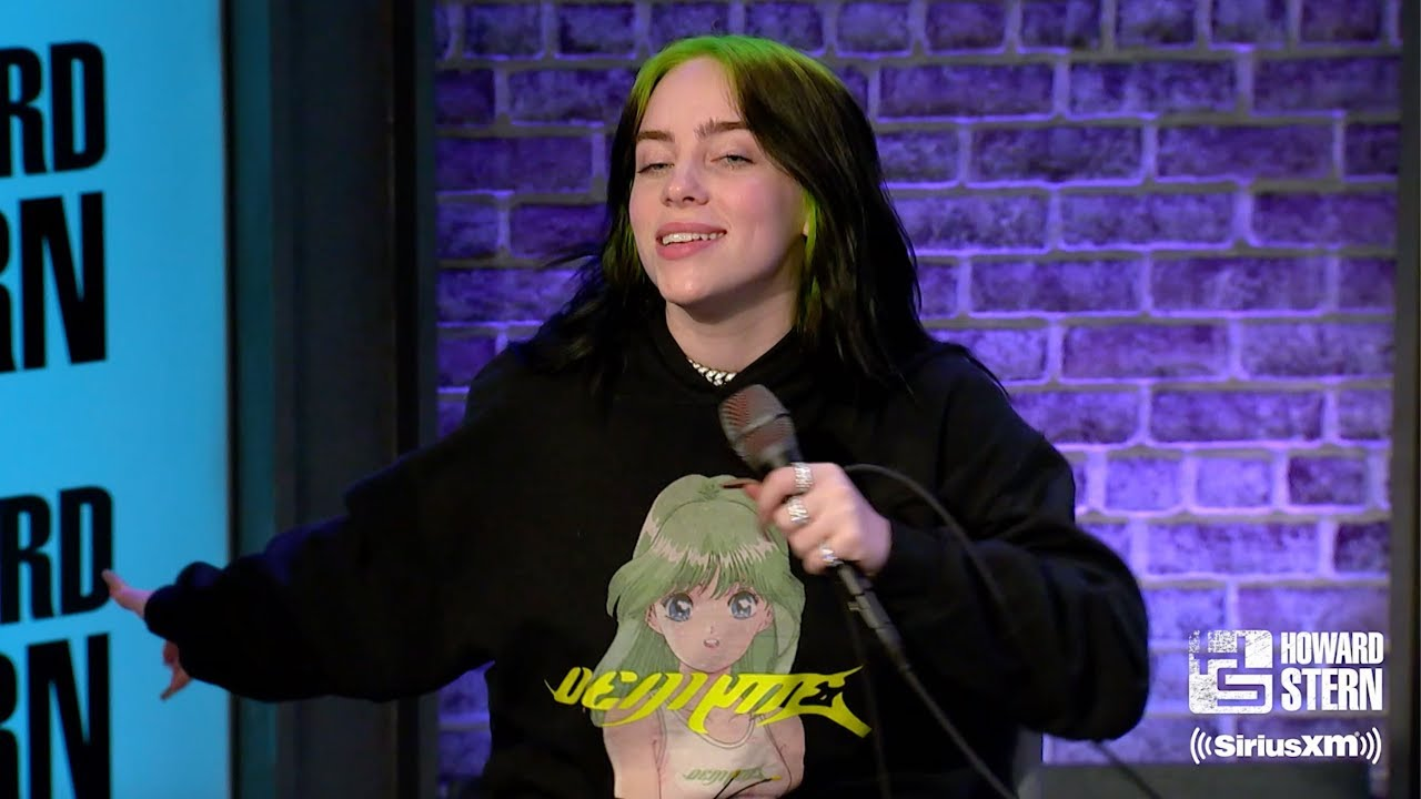 Howard Stern Naked Girls video: billie eilish reveals why she's not dating and how