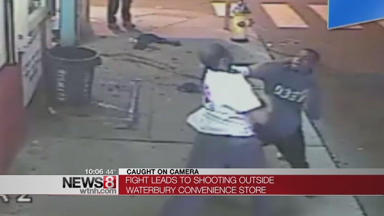 Man shot in Waterbury fight