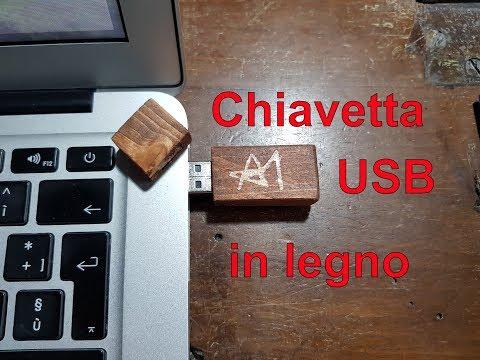 Chiavetta USB in legno - Fai da te