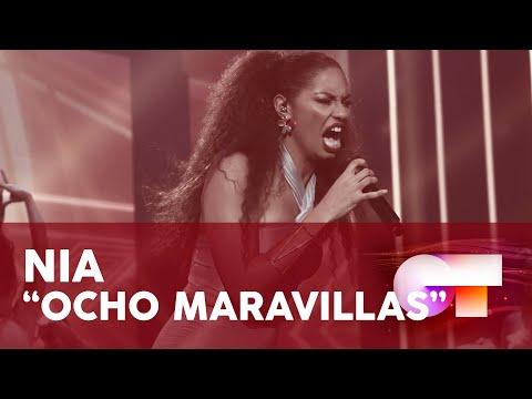 """8 MARAVILLAS� - NIA   GALA FINAL   OT 2020"