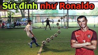 Thử Thách Bóng Đá với Quang Hải Nhí Ronaldo HCM kỹ thuật cực đỉnh như Messi Hà Tĩnh PVF