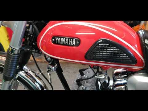 Full restoration on my 1967 YAMAHA HS1 90cc Twin 😁