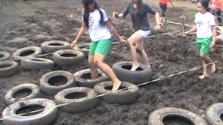 Adults for Obstacle games relay