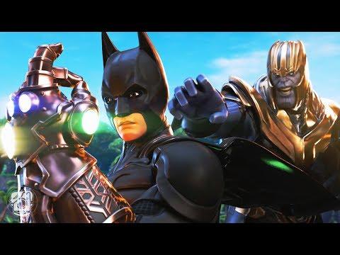 BATMAN STEALS THE INFINITY GAUNTLET: DC Vs. MARVEL (A Fortnite Short Film)