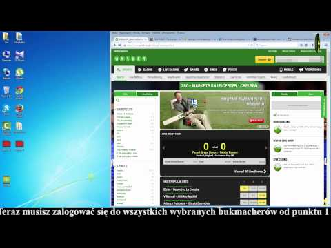 Sports arbitrage (surebets) betting guides with OddStorm software PL