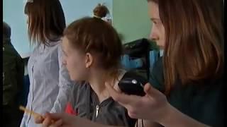 В копейской школе устроили урок физкультуры