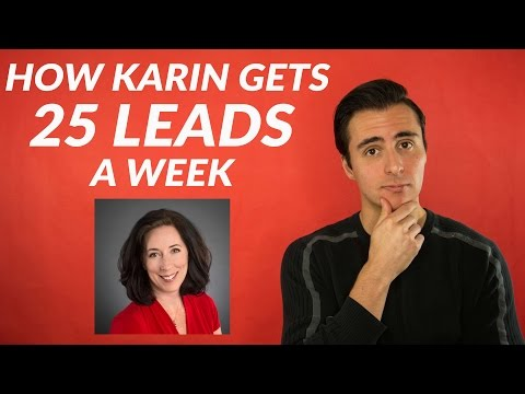 How To Land 25 Leads A Week In Real Estate (With: Karin Carr)
