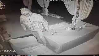 Furt de pe o proprietate din Onesti, surprins de camerele video - 09.07.2018