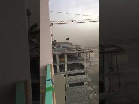 Ураган в Якутске