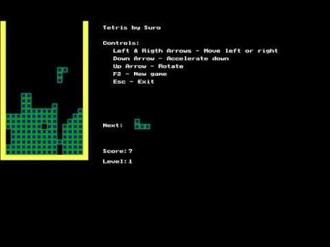 Pascal Tetris