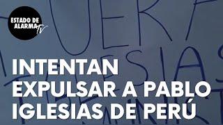 """Protestas en Perú contra Pablo Iglesias ante su posible llegada al país: """"No necesitamos comunismo"""""""